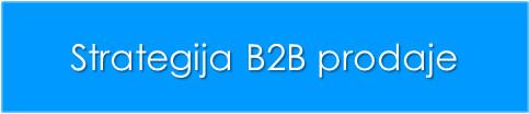 strategija b2b prodaje